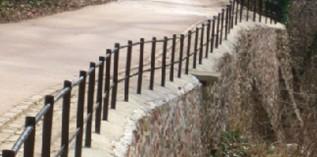 布莱斯城堡Blaise Castle——外侧挡墙