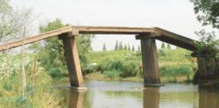 明代石板平梁桥