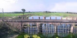 印度铁路砖石拱桥